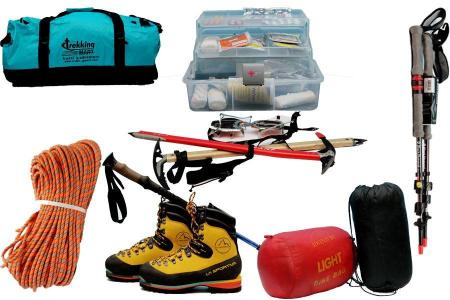 Essential equipment for trekking in Nepal