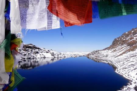 Trekking To Gosainkunda, so called the Sacred Lake