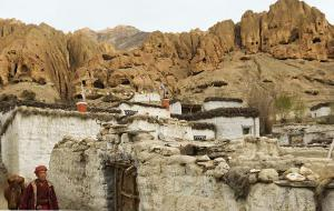 The mysteries of ancient caves in Mustang