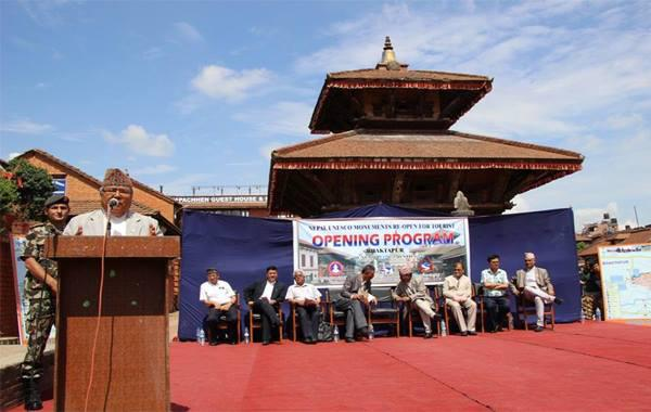 Nepal officially reopened Heritage Sites for visitors