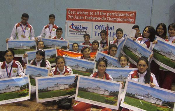 Trekking Mart - Official Travel Partner of 7th Asian Taekwondo Championship