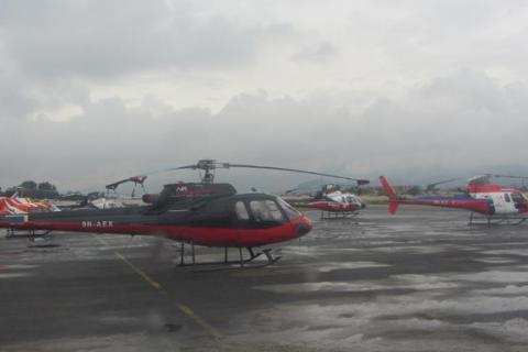 Pokhara and The Annapurna Helicopter Tour