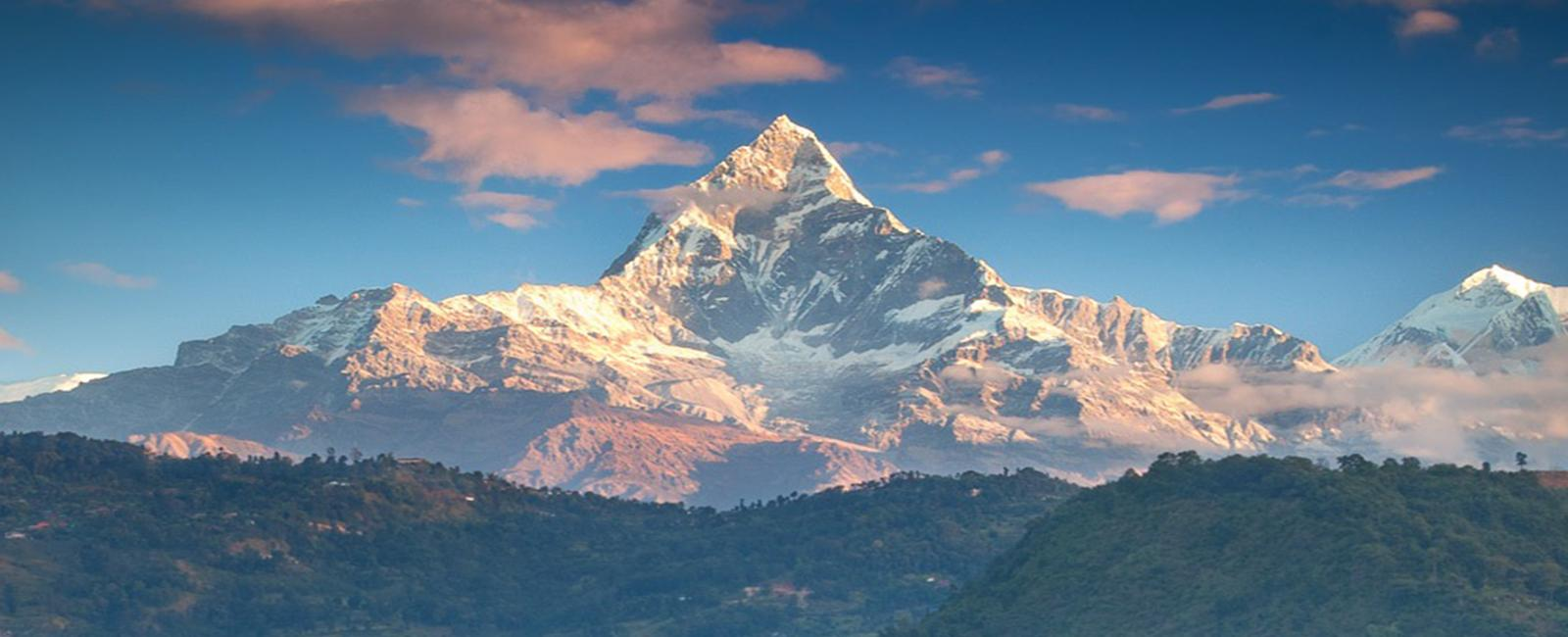 Annapurna mountain View From Pokhara