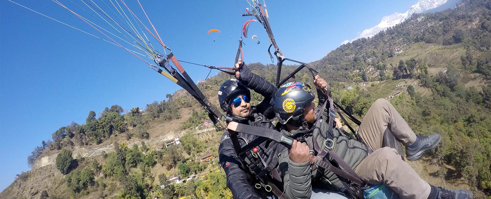 Paragliding Thrill