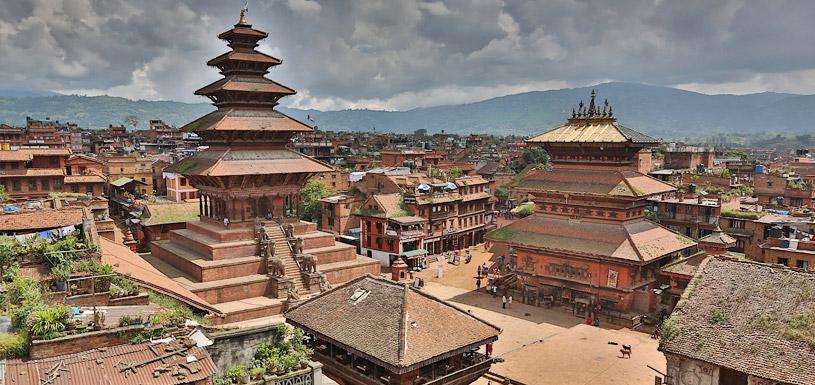 Bhaktapur durbar square sightseeing