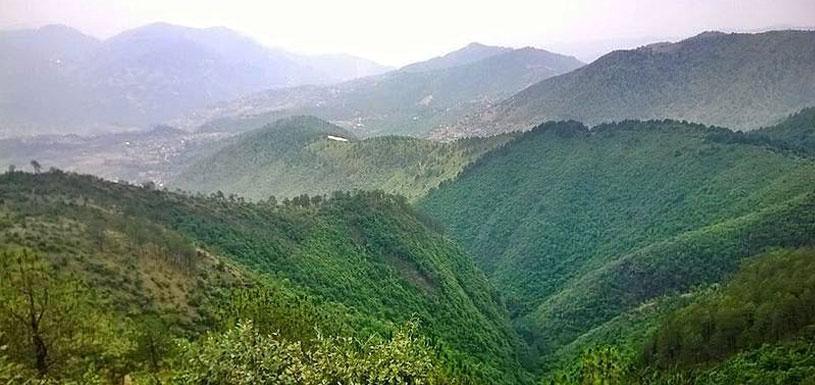 Champa Devi Hill