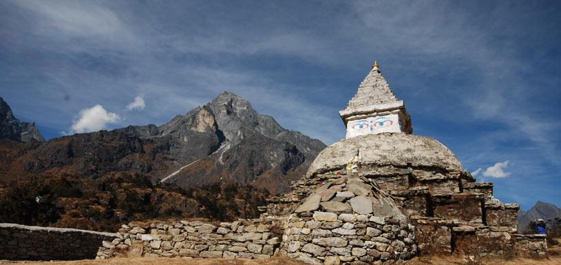 Culture monument at Everest region