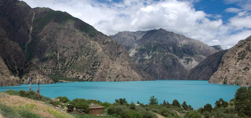 Beautiful Phoksundo lake