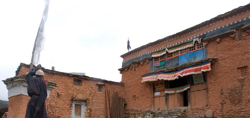 Traditional house of Dolpo region