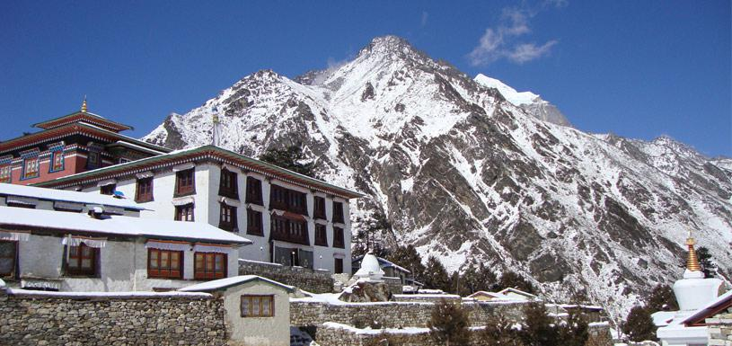 Monastery of Khumbu region