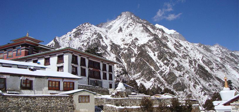 Monastery of Khumbu region