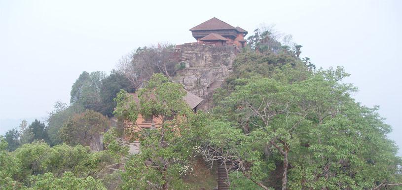 The historic Gorkha Durbar