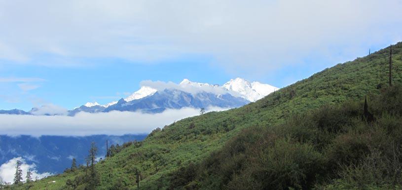 Mesmerizing landscape near Sing Gompa
