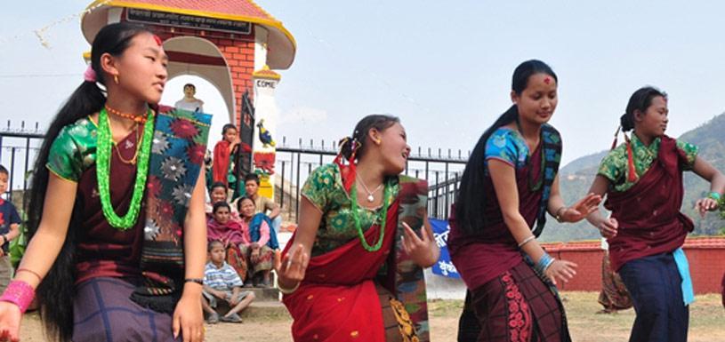 Cultural Dance at a village of Gorkha