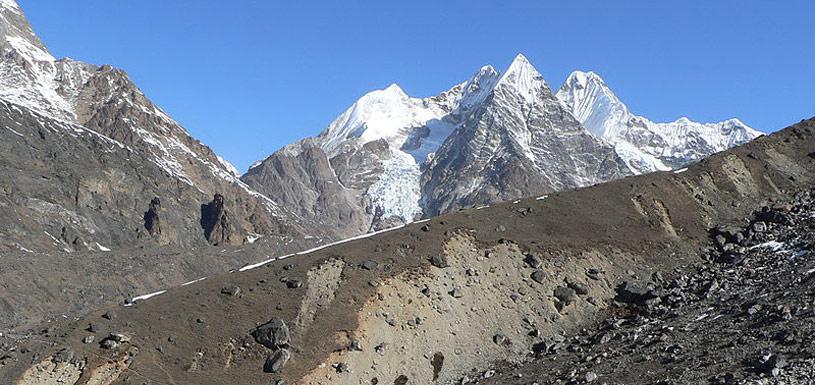 Landscape around Mera Peak