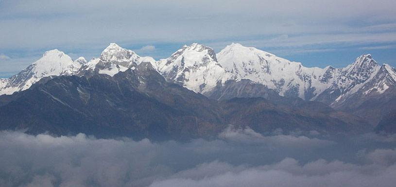 Langtang Mountain Range