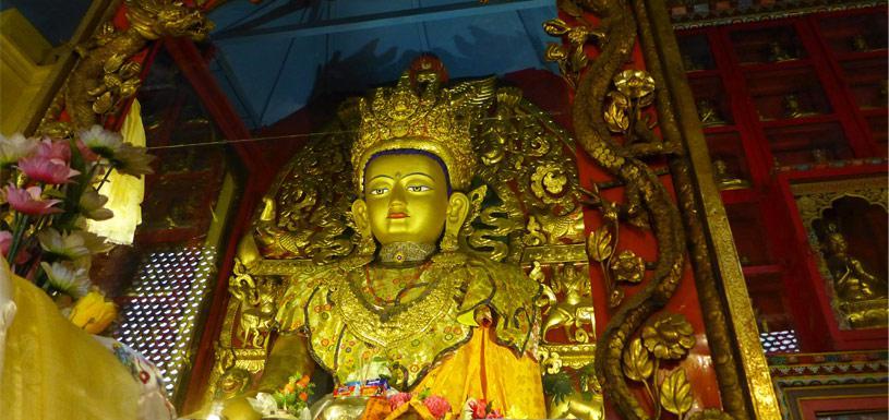 Bodhisattva Manjushree