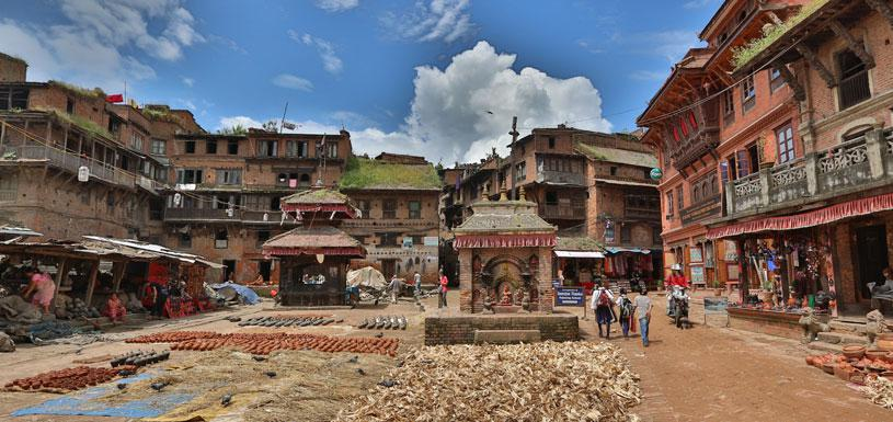 Preserved settlement in Bhaktapur
