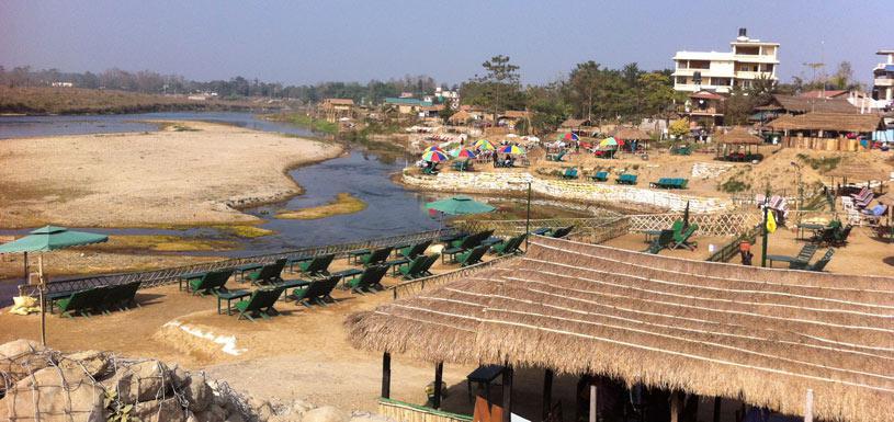 Rapti River Beach