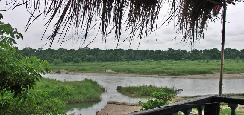 Resort in Chitwan riverside