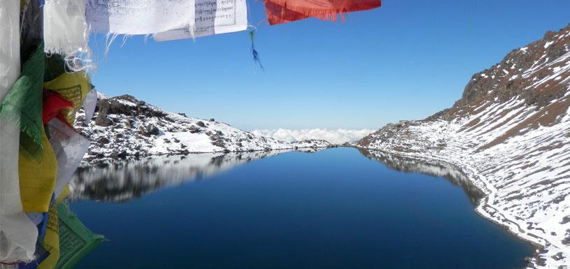Sacred Gosaikunda lake