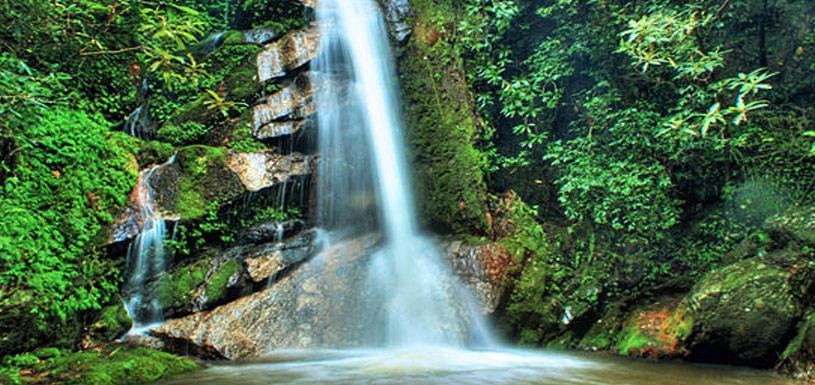 Waterfall at Sundarijal