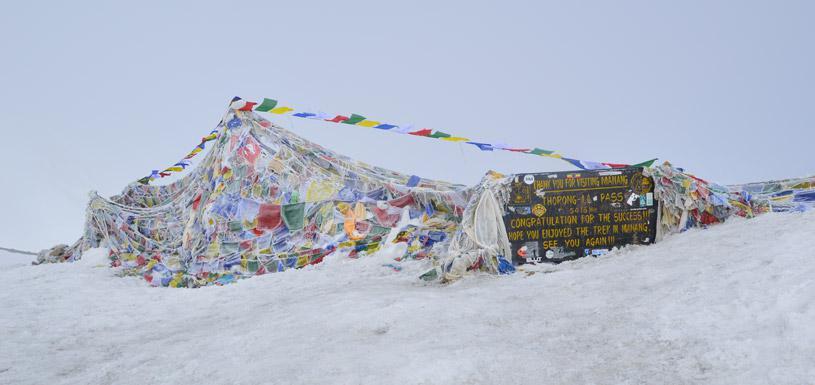 Thorong La Pass (5,416m)