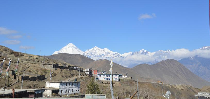 Village around Muktinath