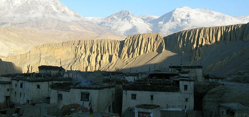 Traditional village of Mustang